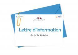 Lettre d'information n°4