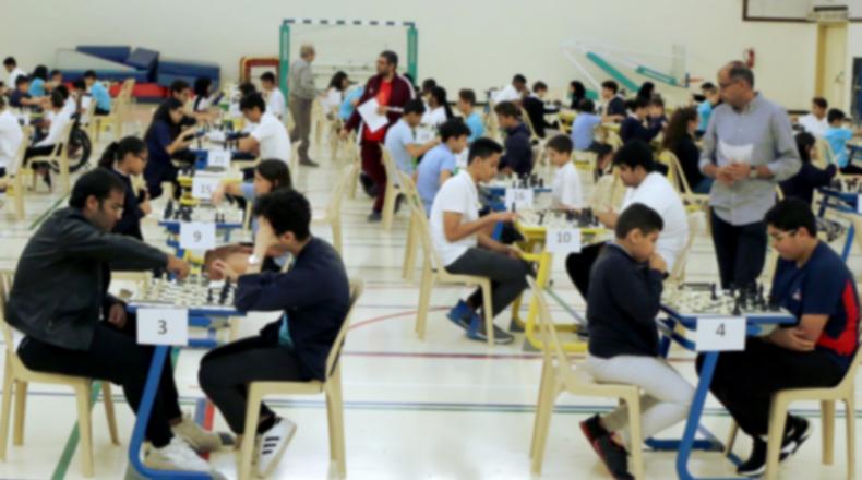 Club d'échecs: rencontres internationales